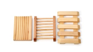 Wooden soap dishes_ALL NATURAL SOAP