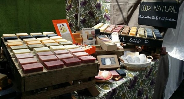 ALL NATURAL SOAP Co Stall