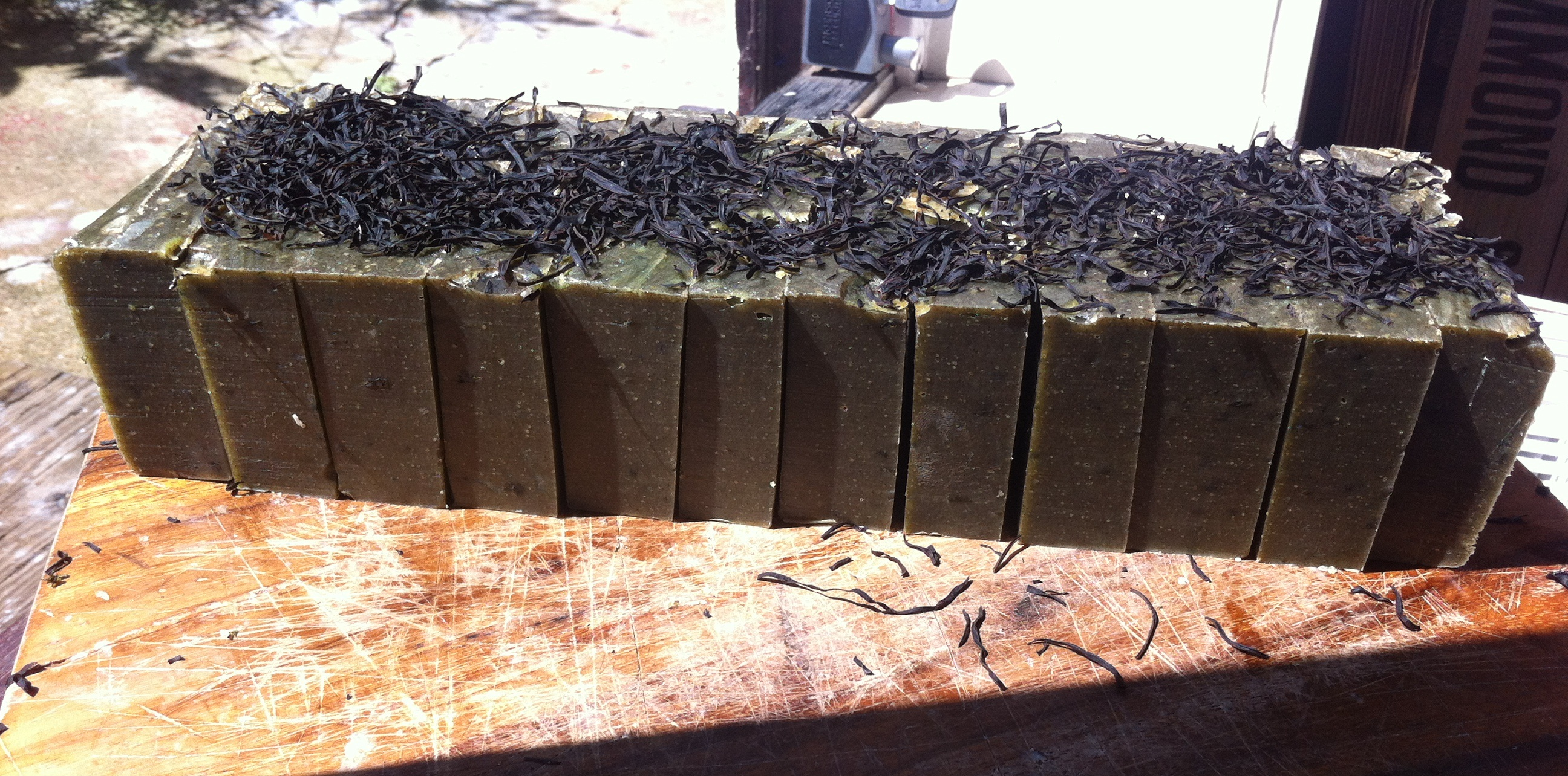 Sushi Seaweed Bars_All Natural Soap