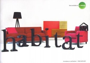 Habitat in Homebase Catalogue Cover featuring All Natural Soap