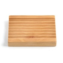 Ridged Soap Dish_ALL NATURAL SOAP Co