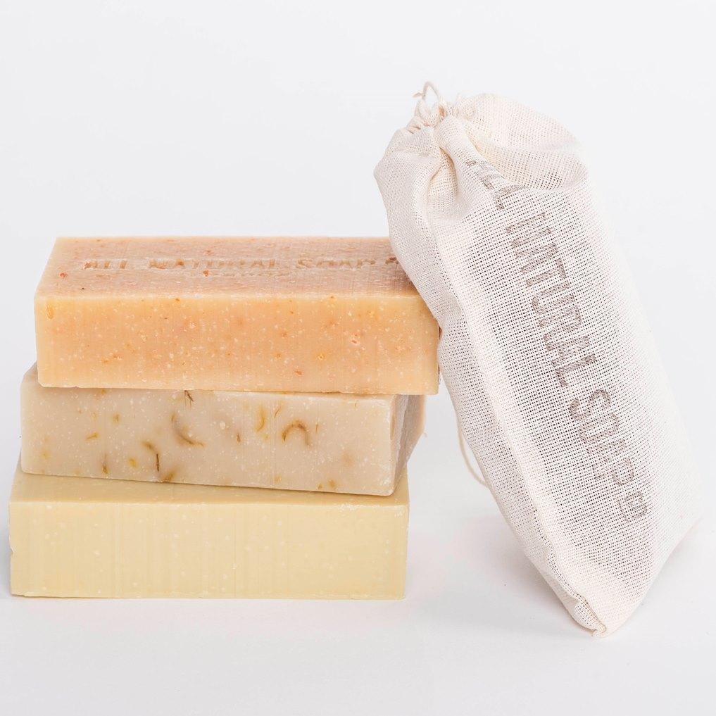 Muslin Gift Bag All Natural Soap Co Award Winning
