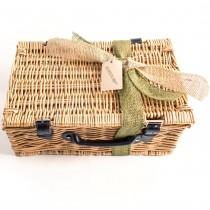 Hamper complete with Eco Friendly Ribbon & Tag