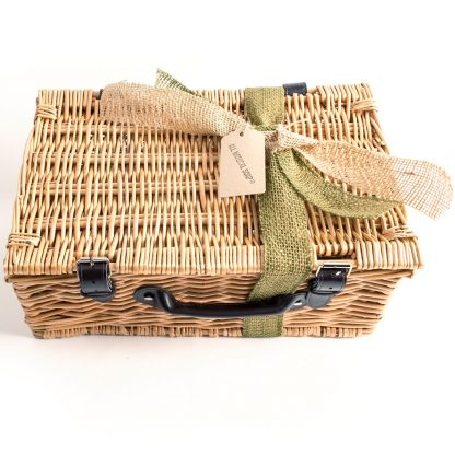 Hamper with Eco Friendly Ribbon & Tag