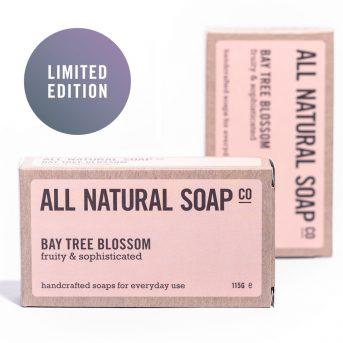 Bay Tree Blossom soap - boxed