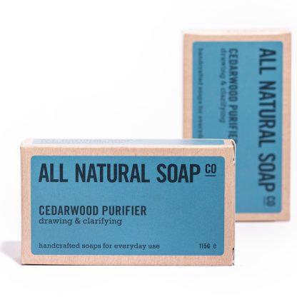 Cedarwood Purifier soap - boxed
