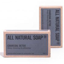 Charcoal Detox soap - boxed