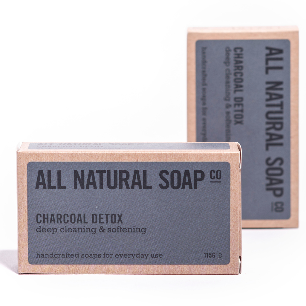 Handcrafted In Usa Detox Charcoal Soap #1 Best Seller! Organic Ingredients