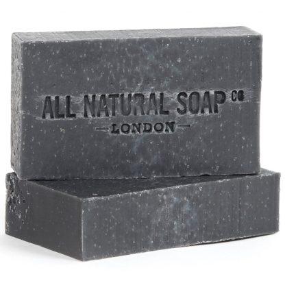 Charcoal Detox soap - unboxed