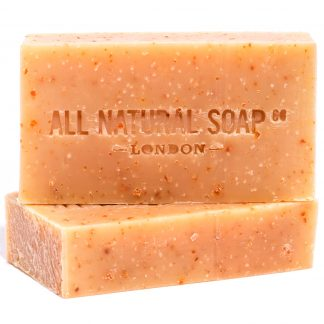 Citrus Sunshine Scrub soap - unboxed