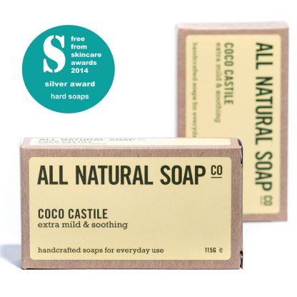 Coco Castile soap - boxed