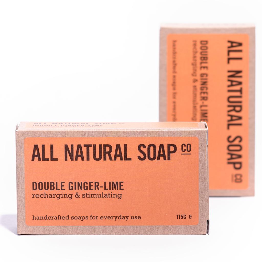Double Ginger-Lime - All Natural Soap Co - Award Winning Handmade Soaps