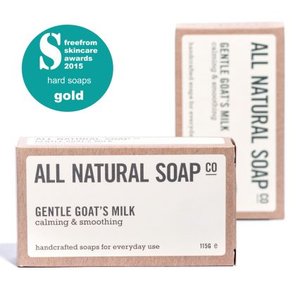 Gentle Goat's Milk soap - boxed