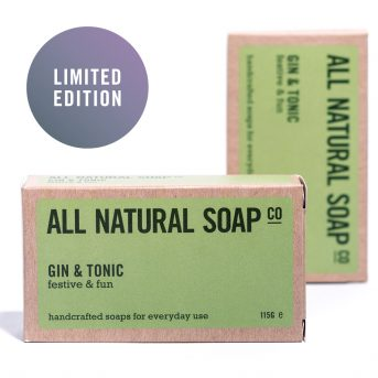 Gin & Tonic soap - boxed