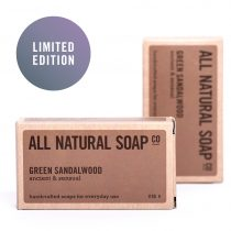 Green Sandalwood soap - boxed