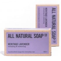 Heritage Lavender soap - boxed