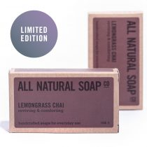 Lemongrass Chai soap - boxed
