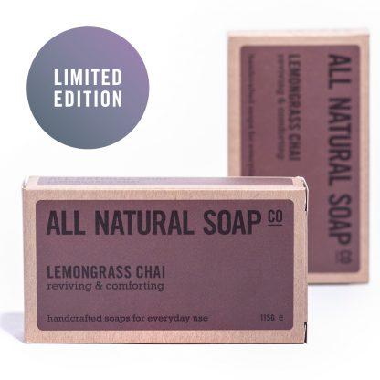 Lemongrass Chai soap - boxed