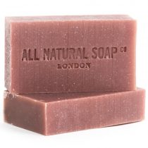 Rose Geranium soap - unboxed