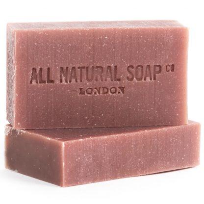 Rose Geranium soap - unboxed