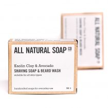 Shaving Soap_boxed_ALL NATURAL SOAP Co