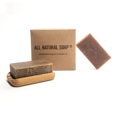 Exotic set of all natural tea soaps